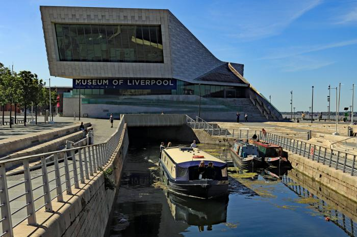 First boats from Liverpool